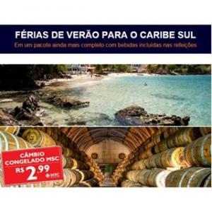 Além de aéreo, transfer e cruzeiro, os hóspedes que desejam ter férias incríveis no Caribe Sul