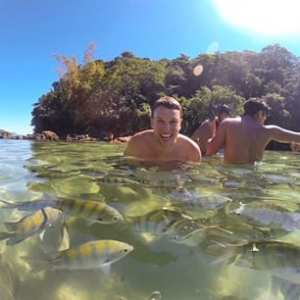 Ilha grande - RJ  #instatravel #adoroviajarcomanovatour #gopro #goprooftheday #topdestinos #actionca
